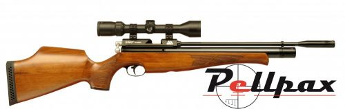 Air Arms S400 .22 Carbine Air Rifle - Beech Stock