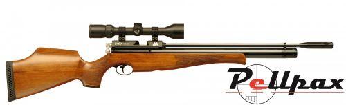 Air Arms S400 .22 Rifle Length - Beech Stock