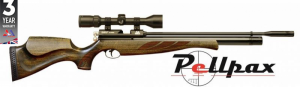 Air Arms S400 Superlite .177 Rifle Length Air Rifle - Hunter Green Stock