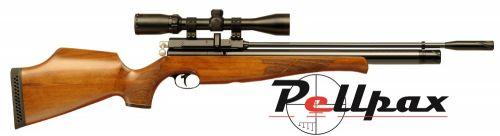 Air Arms S410 .22 Rifle Length - Beech Stock