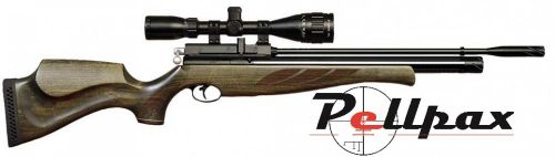 Air Arms S410 Superlite .22 Rifle Length - Hunter Green Stock