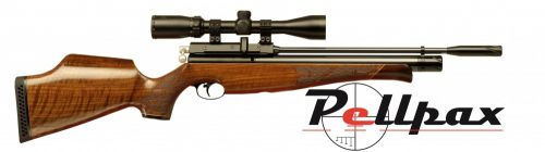 Air Arms S410 .22 Carbine Air Rifle - Walnut Stock