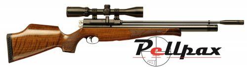 Air Arms S410 .22 Rifle Length Air Rifle - Walnut Stock