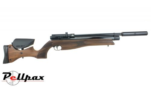 Air Arms S510R Ultimate Sporter Black Soft Touch .22 Pellet PCP Rifle + Bag - Second Hand