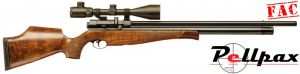 Air Arms S510 Xtra FAC High Power Walnut - .22