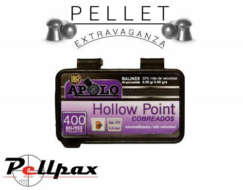 Apolo Hollow Point Copper .177 x 400