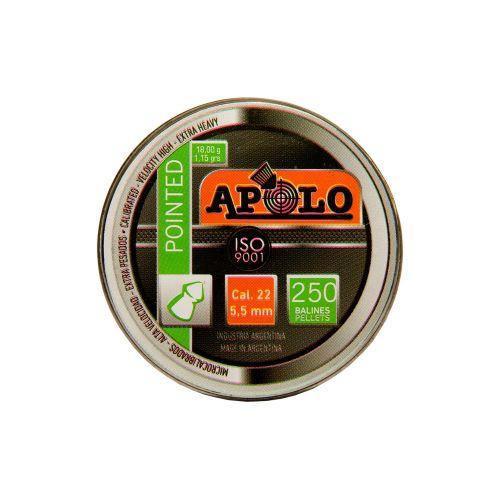 Apolo Pointed .22 x 250