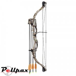 Camo Hawk Youth Compound Bow Kit