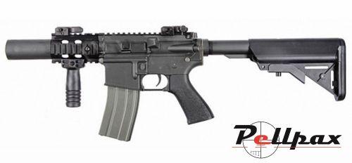Ares M4 CQC AR021 AEG 6mm Airsoft - Black