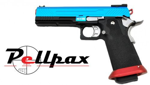 Armourer Works Custom Hi-Cappa Gas Blow Back Pistol - Split Slide