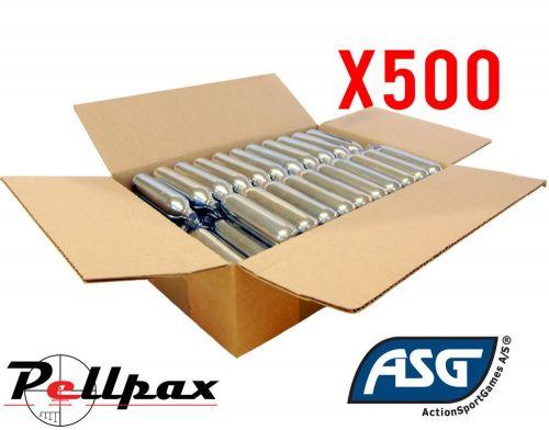 ASG 12g CO2 Capsule Bulk Pack x 500