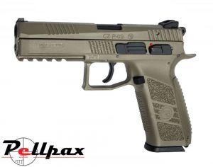 ASG CZ P-09 Duty Full FDE - 4.5mm BB & .177 Pellet Air Pistol