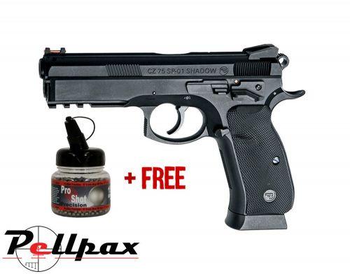 ASG CZ SP-01 Shadow - 4.5mm BB Air Pistol - & Free BB's