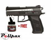 ASG CZ75 P-07 Duty Dual Tone - 4.5mm BB Air Pistol - & Free BB's