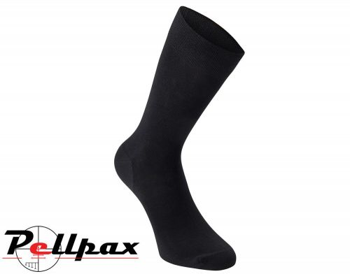 Bamboo Socks 3-Pack Black By Deerhunter