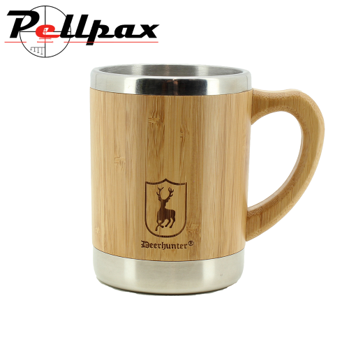 Bamboo Cup w. Handle by Deerhunter