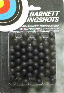 """Barnett Plastic """"Hot Shot"""" Slingshot Ammo x100"""