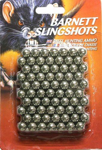 Barnett Steel Slingshot Ammo x 140