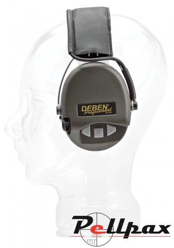 Deben Pro Basic Electronic Ear Defenders- with AUX Input