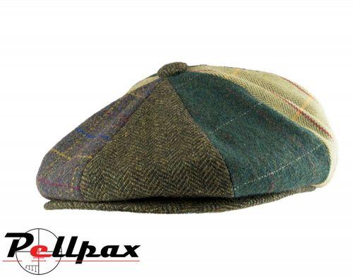 Baker Boy Wool Blend Hat By Jack Pyke in Patchwork