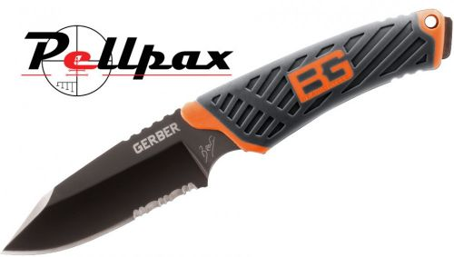 Gerber Bear Grylls Compact Fixed Blade - Serrated Edge
