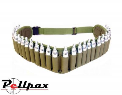 Pellpax CO2 Belt Including 26 x CO2 Capsules