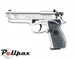Beretta M92FS Polished Chrome - .177 Pellet Air Pistol
