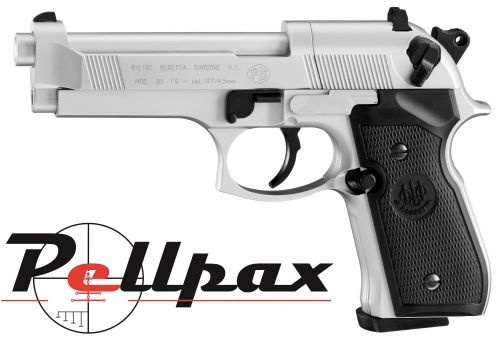 Beretta M92FS Nickel - .177 Pellet