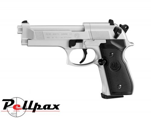 Beretta M92FS Nickel - .177 Pellet Air Pistol