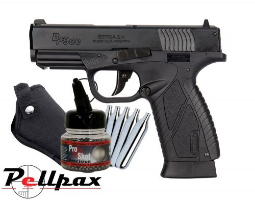 Bersa BP9CC Pistol Kit - 4.5mm BB Air Pistol