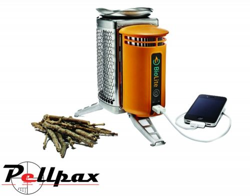 BioLite CampStove II Wood Burning & USB Charging Camping Stove