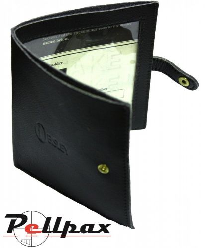Shotgun Certificate Wallet Leather by Bisley
