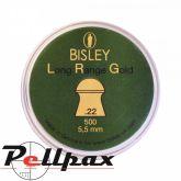Bisley Long Range Gold .22 Pellets x 500