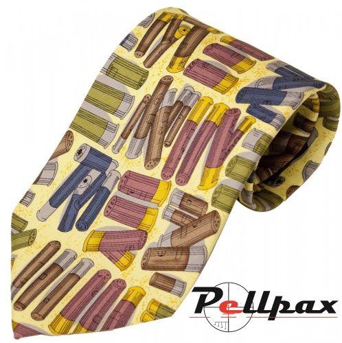 Cartridges Silk Tie by Bisley