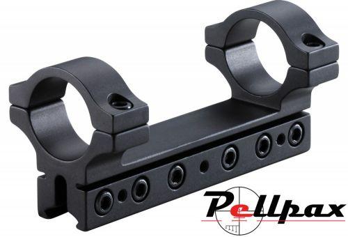 "BKL 1pc 4"" Straight Drop Comp Medium 25mm Mount 9-11mm"