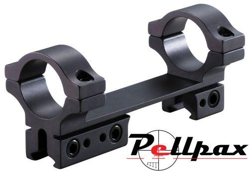 """BKL 1pc 4"""" Bolt Action Medium 25mm Mount 9-11mm"""