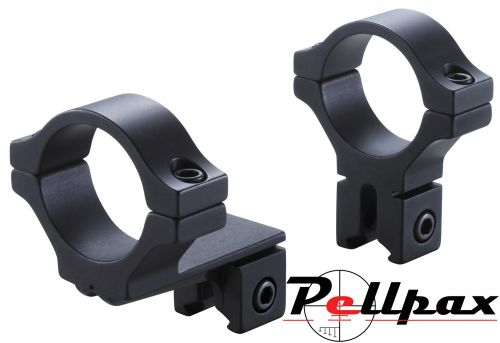 BKL 2pc Single Strap Offset Medium 25mm Mounts 9-11mm