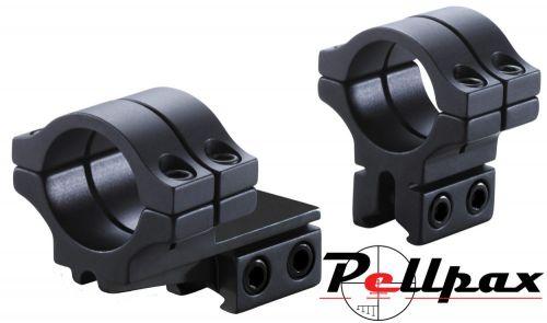 BKL 2pc Double Strap Offset Medium 25mm Mounts 9-11mm