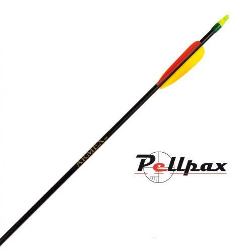 Armex Black Fibreglass Arrows - Pack of 5