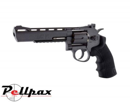 """Black Ops Justice Dealer Black 6"""" - 4.5mm BB Air Pistol"""