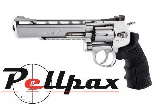 Black Ops Justice Dealer Silver 6 - 4.5mm BB