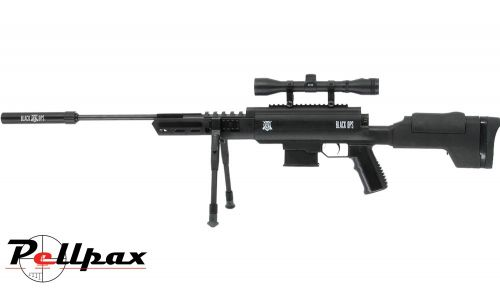 Black Ops Tactical Sniper Air Rifle .22 - Gas Ram Model