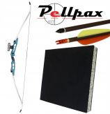 EK Archery Blue Jazz Recurve Bow Kit