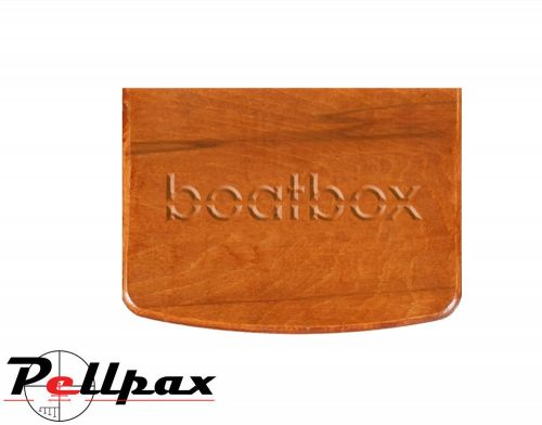 BoatBox Transom Board - Hand Stained & Varnished