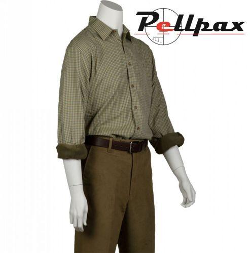 Grendon Fleece Lined Country Shirt by Bonart