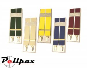 Plain Coloured Stretch Braces by Bonart