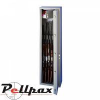 Brattonsound 9 Gun Full Gun Cabinet With 203mm Internal Locking Top