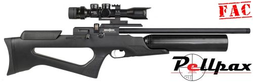 Brocock Bantam MK2 .22 FAC - Black Soft Touch Stock