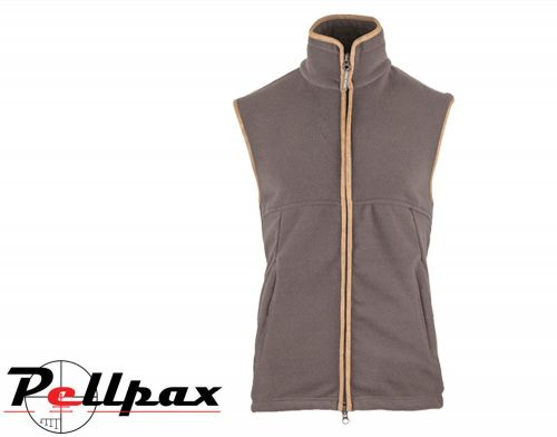 Countryman Fleece Gilet By Jack Pyke in Brown
