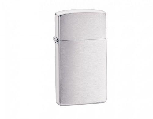 Zippo Brushed Chrome Slim Lighter